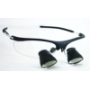 Feather Sight Loupes & Feather Light LED Combo:  #TS3 Sport Frame - TTL (2.5x Magnification)