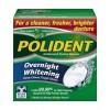 Polident Overnight Whitening Antibacterial Cleanser